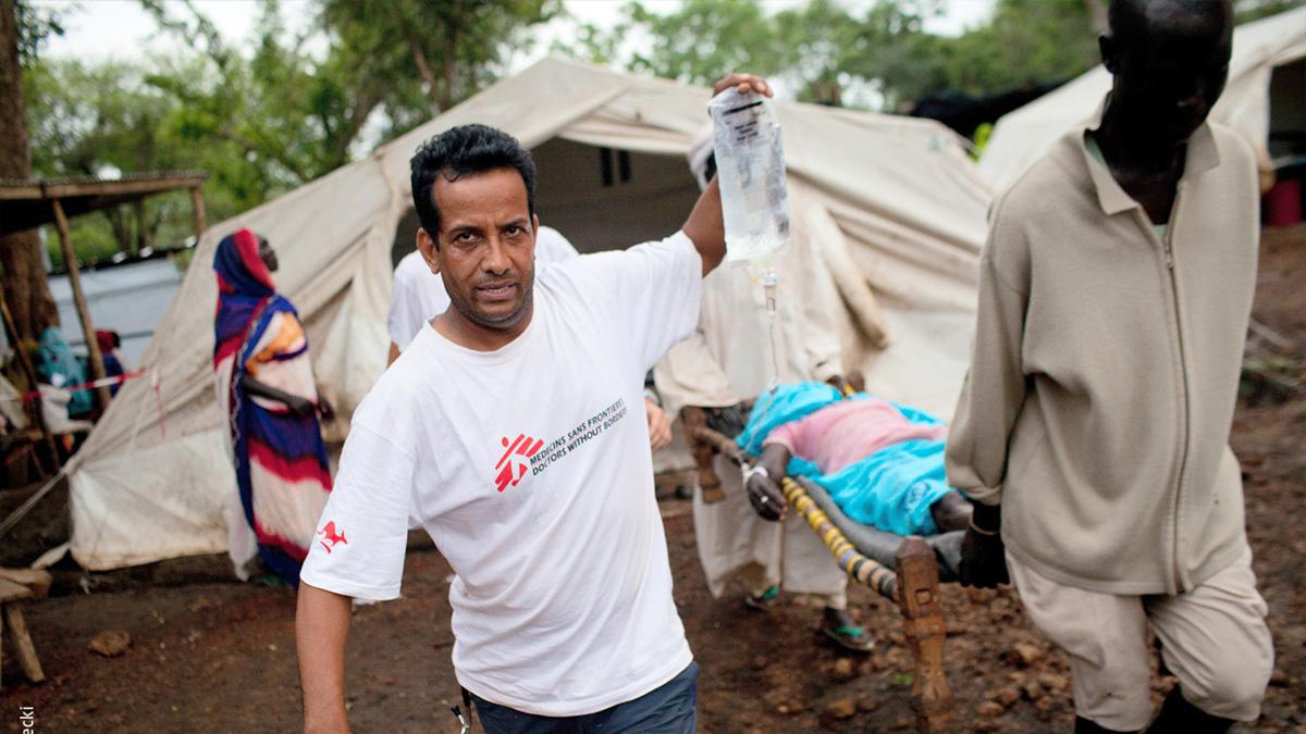 Ärzte ohne Grenzen – bedingungslos menschlich